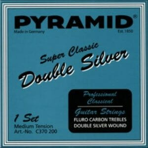 Pyramid Super Classic - Double Silver - Carbon